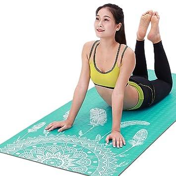 Colchoneta De Yoga, Amplia Y Larga Estera De Ejercicios para ...