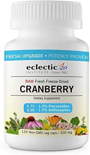 Eclectic Cranberry 300 Mg Cog FDUV, Blue, 120 Count
