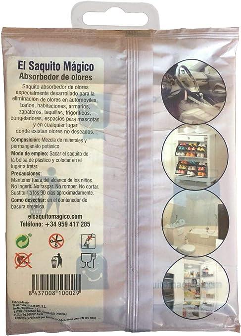 EL SAQUITO MÁGICO +Plus, Elimina los Malos olores sin ambientador ...