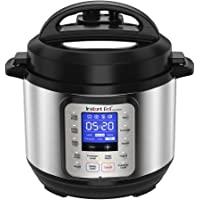 Instant Pot 110-0022-01 Duo Nova Electric Multi Use Pressure Cooker, Stainless Steel, 3L