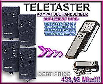 Handsender 433,92 MHz f/ür TELETASTER SKJ mini Antriebe