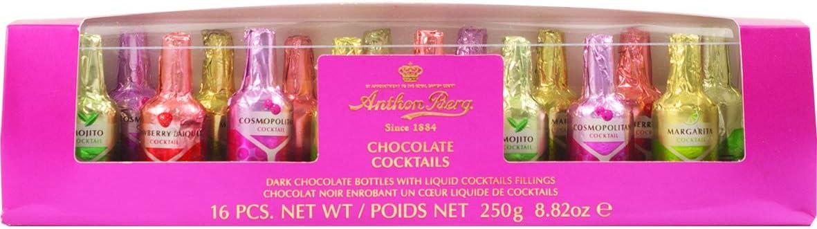Anthon Berg Chocolate cócteles 16pcs, 250g, 1er Pack (1x 250g)