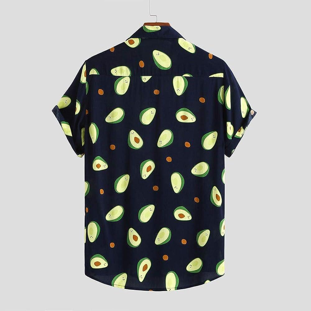 Mosstars - Camisa hawaiana para hombre, diseño de hipster, manga corta, con botones en 3D, talla M, 3XL, 2019 Negro L: Amazon.es: Ropa y accesorios
