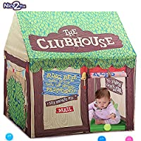 Nice2you Kid Play Tent Children Playhouse Indoor Outdoor Toy Play House for Boy Girl 2 3 4 5 Years Old Perfect for Birthday Gift, Christmas