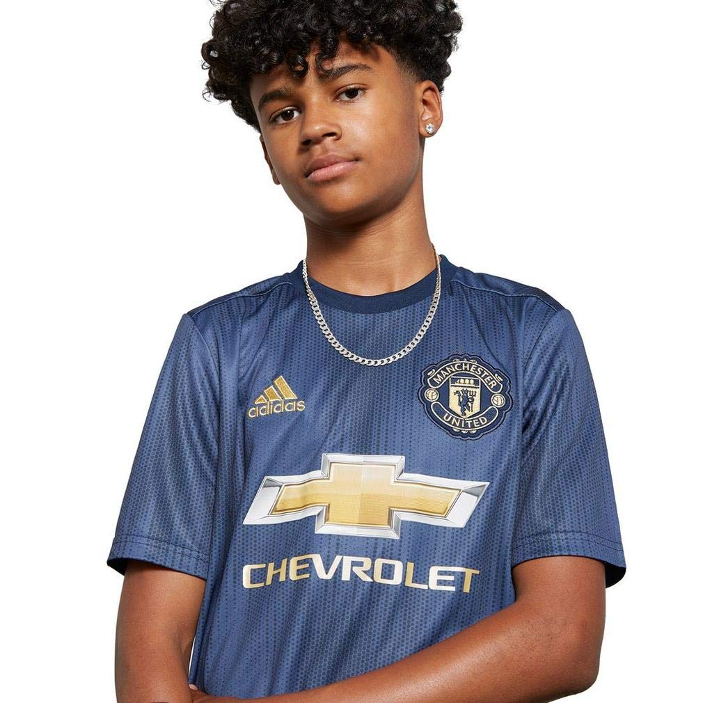 Adidas 2018-2019 Man Utd Third Football Shirt (Kids)