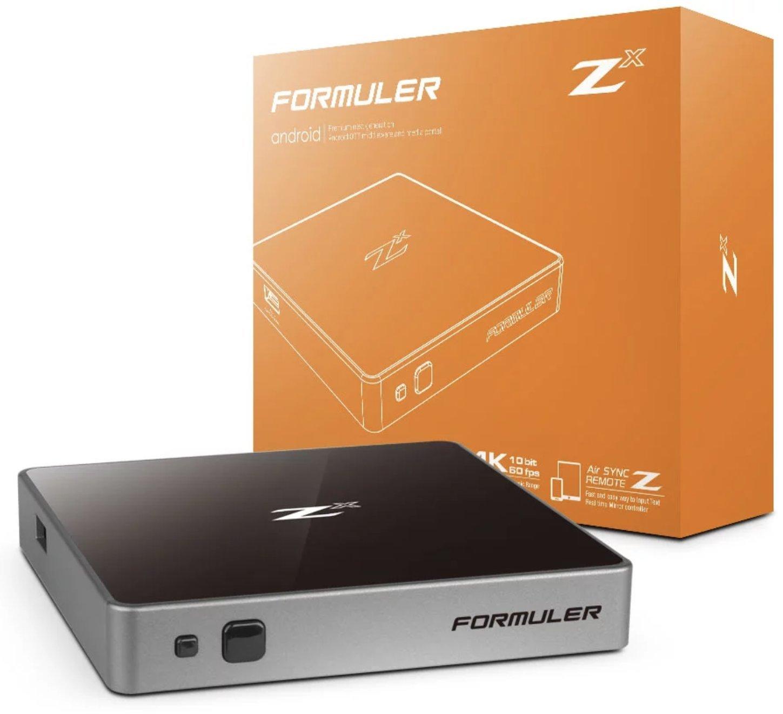 Formuler Z X Plus 4K 60 FPS Quad Core 1GB DDR4 Android 7