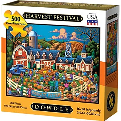 Dowdle Jigsaw Puzzle - Harvest Festival - 500 Piece: Toys & Games