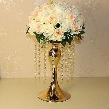 Amazon De Everbon 13 Cm Hohe Elegante Metall Acryl Tisch