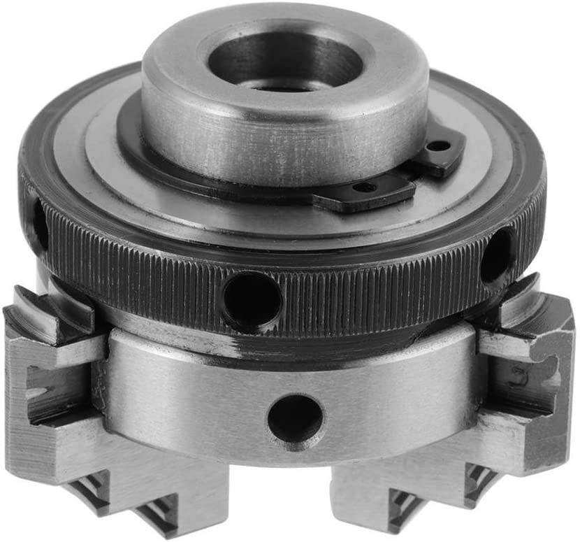 with 3 Jaws and Mounting Thread Three Jaw Self Centering Hand Grip Chuck Mini Woodworking Hand Chuck for K01-50