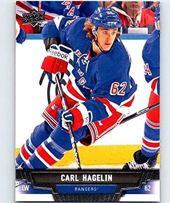 finest selection 84e0f b4cba Amazon.com: 2013-14 Upper Deck #421 Carl Hagelin NY Rangers ...