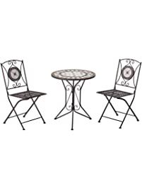 Outsunny 3 Pc Outdoor Cast Iron Patio Furniture Antique Style Bistro Dining Chair Table Set as well Outdoor Seating as well Dining Chairs together with B together with Rattan Garden Furniture Sets. on rattan garden sofa furniture