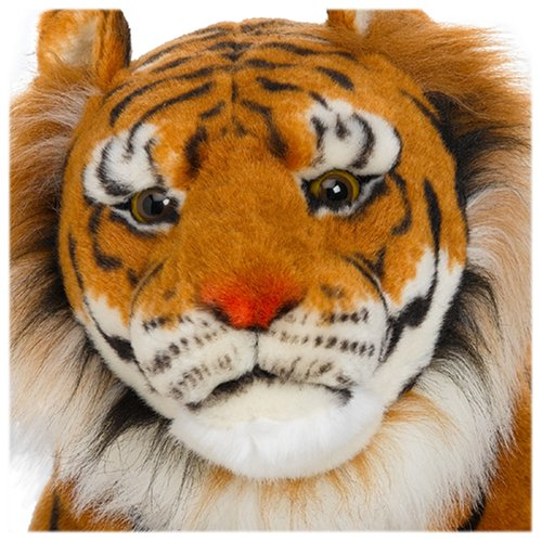Melissa Doug Giant Tiger Lifelike Stuffed Animal Over 5 Feet Long