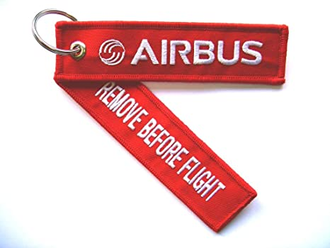 Schlüsselanhänger Remove Before Flight Airbus A321