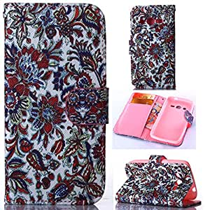 [Samsung Galaxy Core LTE],Leather For Samsung Galaxy Core LTE,G386F Wallet Case,Canica Beautiful Printed PU Flip Leather Case Cover For Samsung Galaxy Core LTE 4G SM-G386F !08