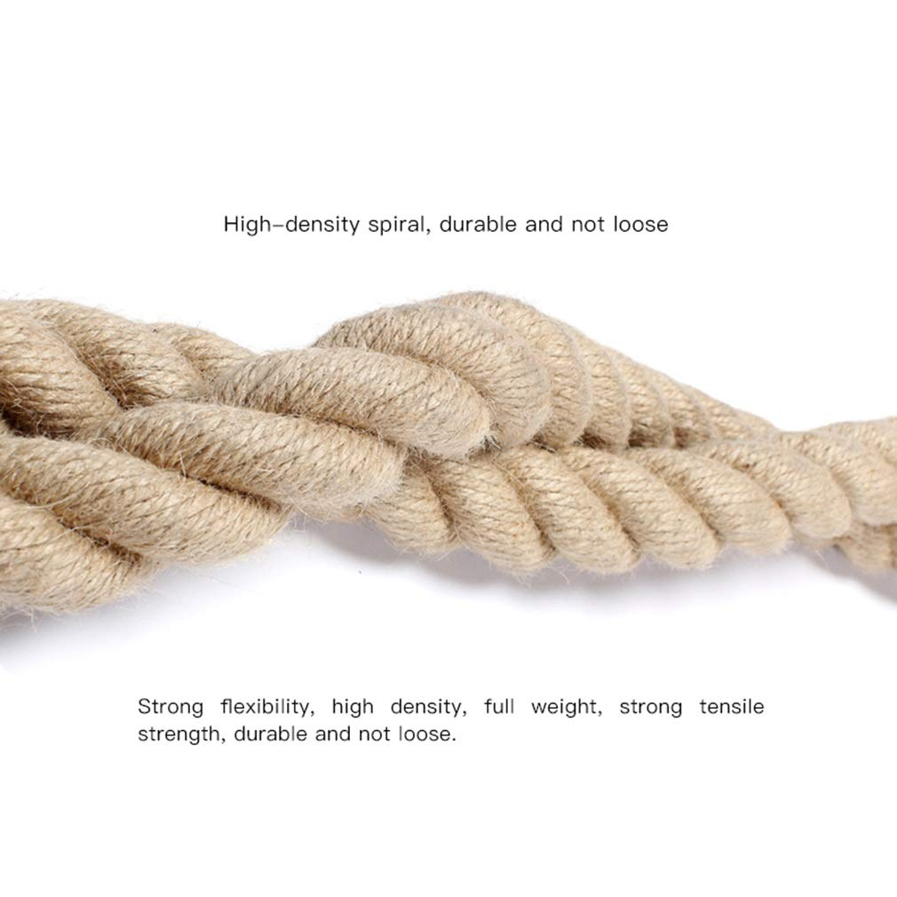 Battle Rope Diameter 38 mm UFC Fitness Training Rope Strength Training Physical Training Full Body Fitness 9M / 12M / 15M (Size : 12m) by BAI-Fine (Image #3)