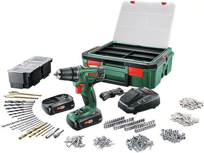 Kit Accessoires 06039a3003 Bosch PSR 1440 li-2 Batterie-Clé à Chocs Set avec VALISE /& 39tlg