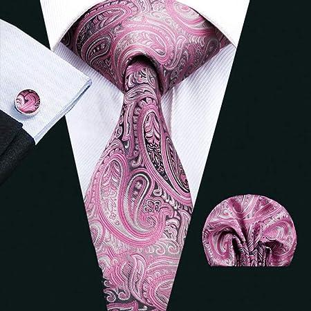 QEHWS Corbata Corbata para Boda Corbatas De Hombre con Corbata con ...