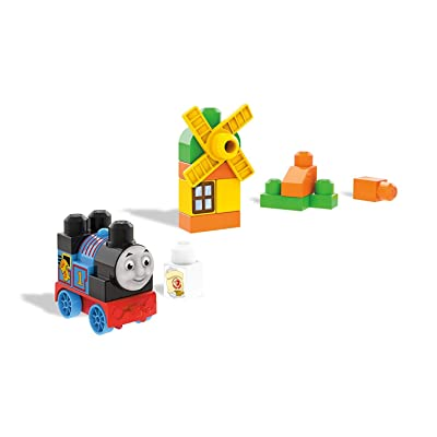 Mega Bloks Thomas & Friends Sights of Sodor Thomas At The Mill Train Bag: Toys & Games