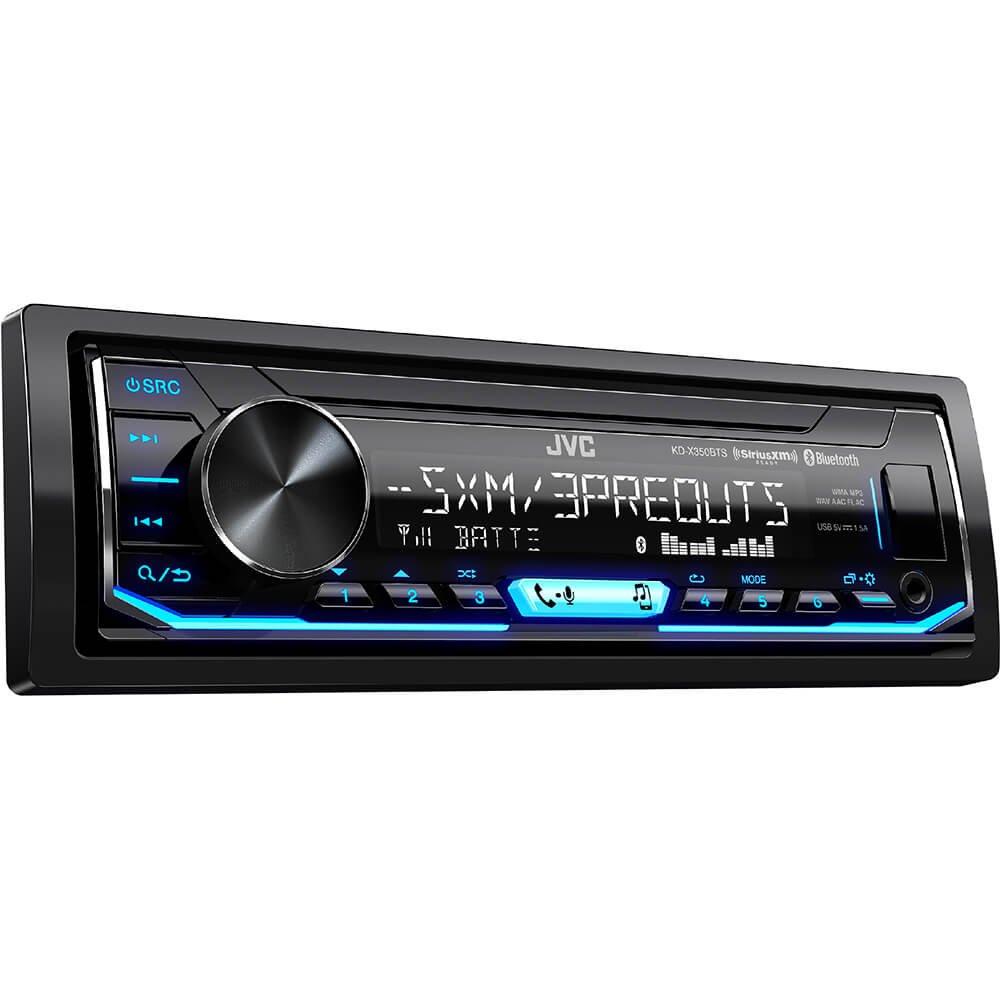 JVC KD-X350BTS 1-Din Car Digital Media Bluetooth Receiver