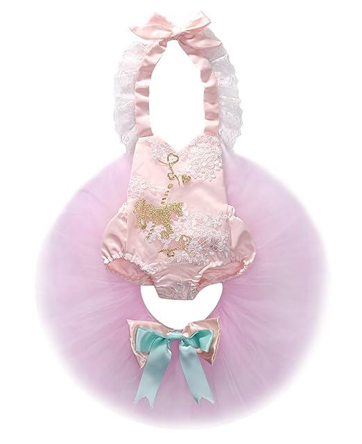 Amazon.com: bebé bebé niñas lentejuelas Romper + Tutu Faldas ...