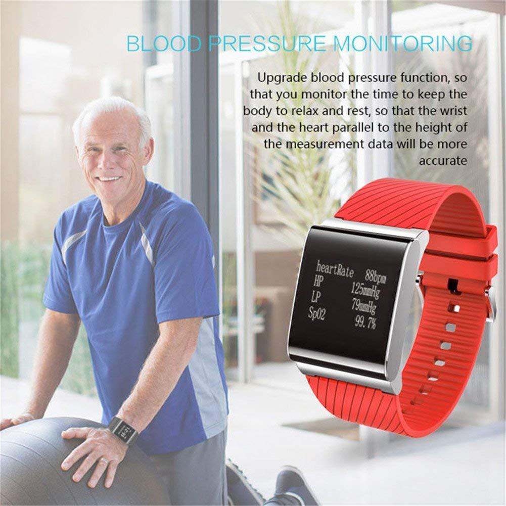 Smart Watch, MX Kingdom X9 Pro Reloj de Pulsera Smart Banda Tensiómetro Pulsómetro De Oxígeno Tracker Pulsera en Smart Watch para Android iOS: Amazon.es: ...