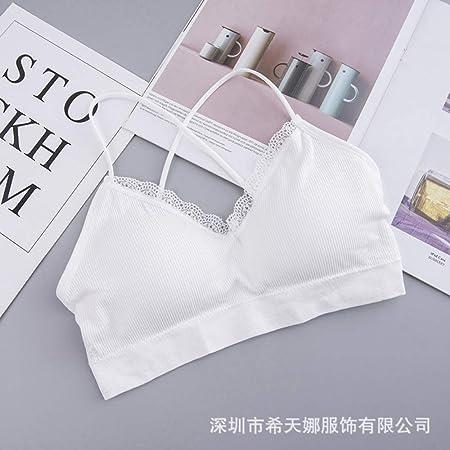 Tianyifeng Nueva Belleza Volver Encaje Cofre Envuelto Yoga ...