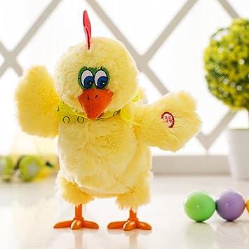 Elektrische Henne Musical Tanzen Eier Legen Kinder Plüsch Baby Kinder Spielzeug
