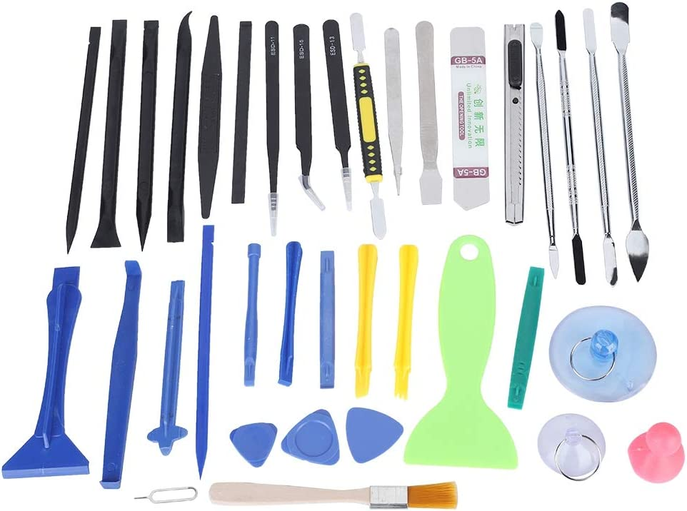 Disassembly Repair Kit 37 in 1 for Telephone//Laptop Maintenance fosa Professional Lever Opening Tool Kit