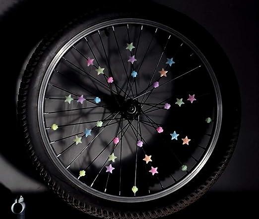 HeiHy - Radios de Bicicleta con Forma de Estrella para Bicicleta ...