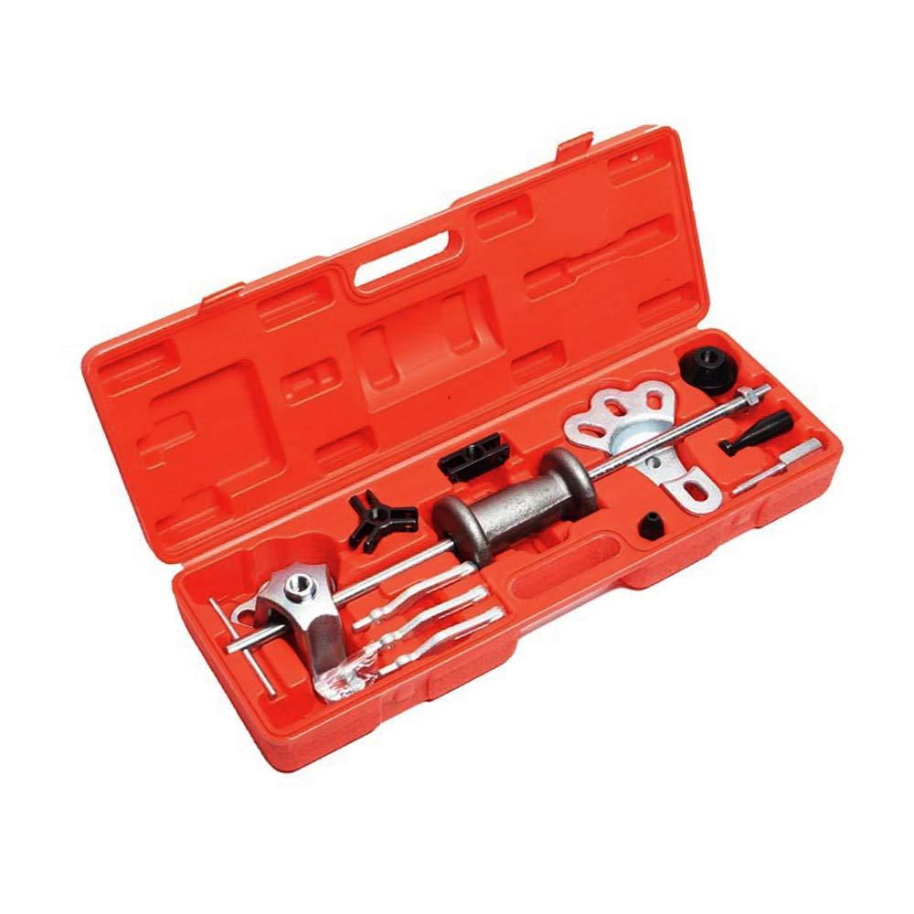 A ABIGAIL A7878F Slide Hammer Puller Set, Front Wheel Hub Bearing Remover & Rear Wheel Axle Shaft Puller Tool Kit