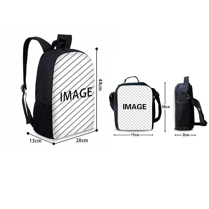 d1cf2c37c51f Instantarts Fashion Shoulder School Backpack Book Bags for Kids Skull  Pattern