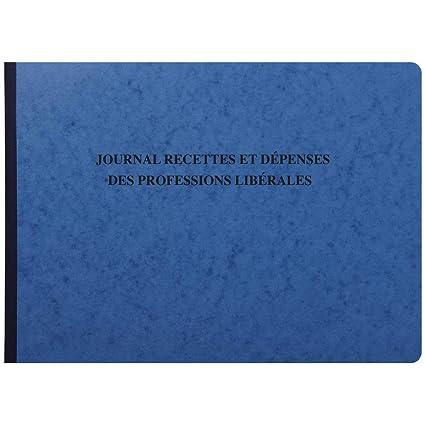 Exacompta Ref 9620e Piqure Journal Des Recettes Depenses Des