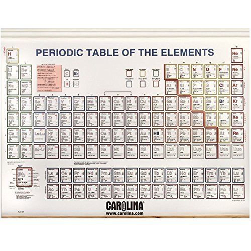- Periodic Table of the Elements, with Spring Roller
