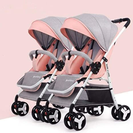 Pink day Cochecito de bebé Los cochecitos de bebé Gemelos ...