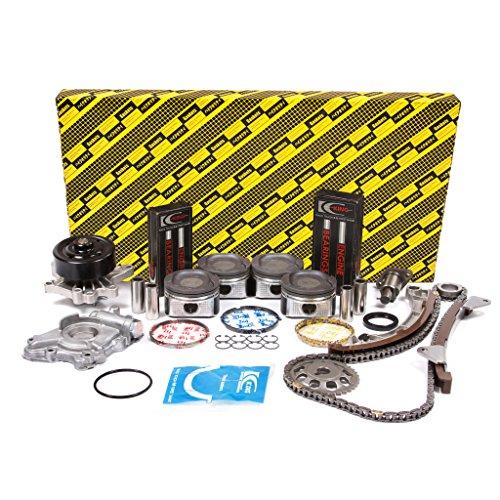 (Evergreen OK2024L/0/0/0 00-08 Toyota Chevrolet VVT-i 1.8L DOHC 16V 1ZZFE Enigne Rebuild Kit)