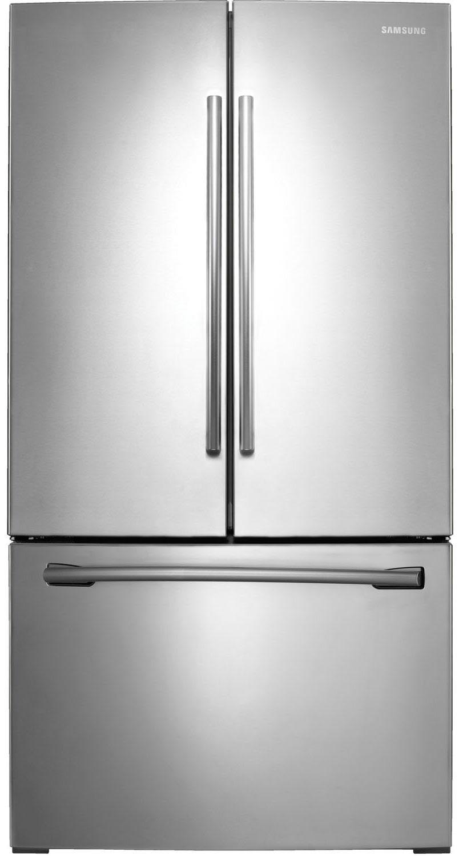 Samsung RF261BEAESR 25.5 Cu. Ft. Stainless Steel French Door Refrigerator - Energy Star