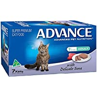 Advance Tender Chicken Adult and Senior Cat Food Pack, 7 Piece