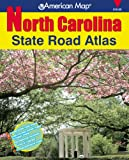 img - for American Map North Carolina State Road Atlas (American Map Regional Atlas: North Carolina State Road) book / textbook / text book