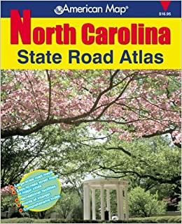 American Map North Carolina State Road Atlas American Map