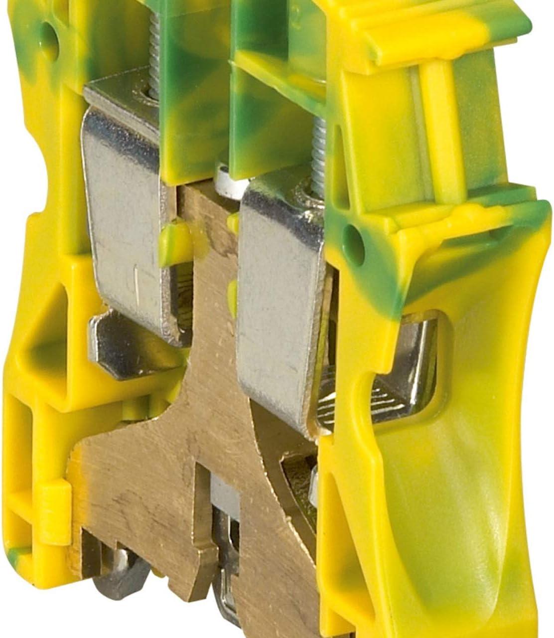 /vert-jaune viking3/terre 6/mm2 Legrand Vis Viking 037172/