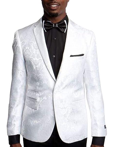 P&G Hombre Traje de Vestir de Jacquard Dos Piezas Chaqueta ...