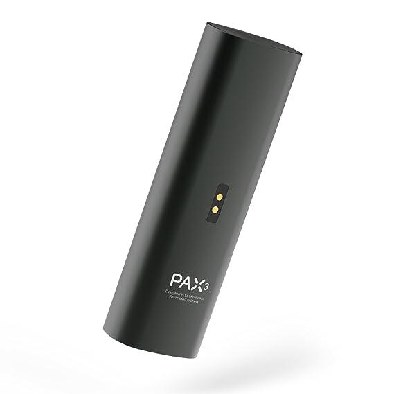 Pax | PAX 3 - Vaporizador Portátil Premium - Hierba Seca Resina Wax Concentrados - Garantía 10 años - Nuevo Color - Kit Completo - Negro Mate: Amazon.es: ...