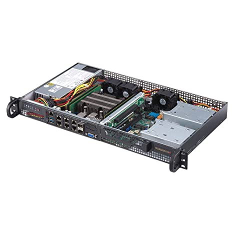 0 GB Rack-Mountable Xeon D-2146NT SuperMicro SuperServer 5019D-FN8TP