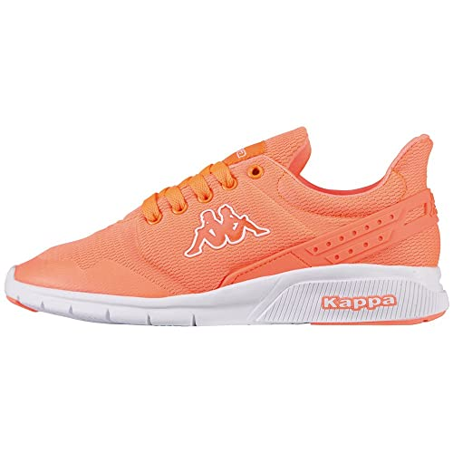 Womens New York Trainers, Coral/White Kappa