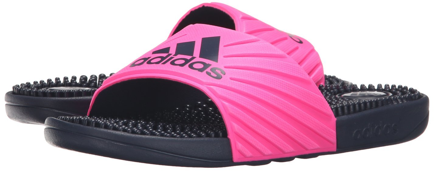 137c486256cc adidas Womens Voloossage Athletic Running Shoe Shock Pink Collegiate Navy