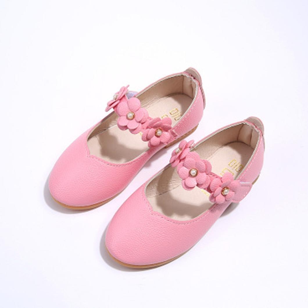 Tefamore Partido Zapatos Bebe Sólido Casuales De la Flor del Moda ...