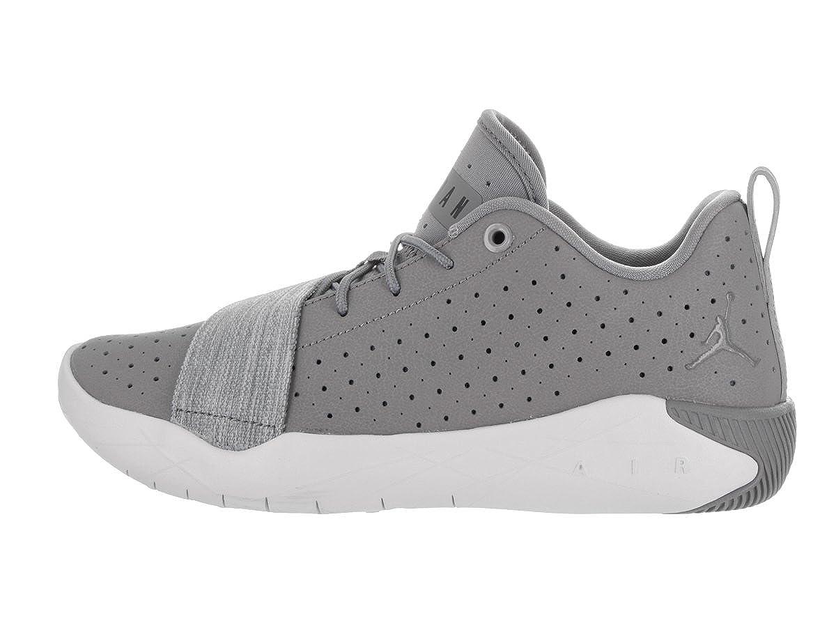 Jordan Nike Kids 23 Breakout Bg Cool Grey//Black Pure Platinum Basketball Shoe 6.5 Kids US