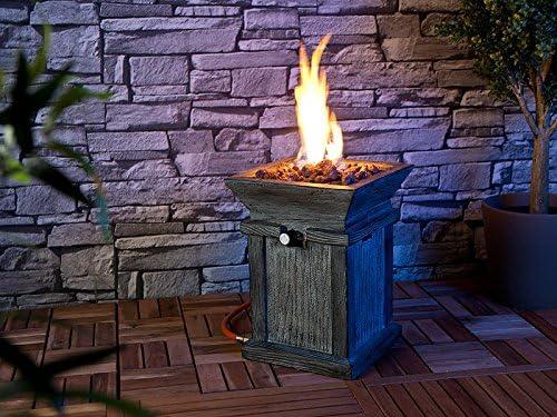 Bonito Gas Fuego decorativo para jardín y terraza: Amazon.es: Jardín