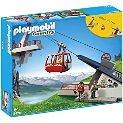 PLAYMOBIL 5426 Alpine Cable Car Playset