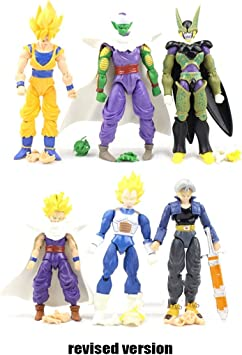 Yingjianjun Dragon Ball - Pack de 10 figuritas Set Heroes Toy ...